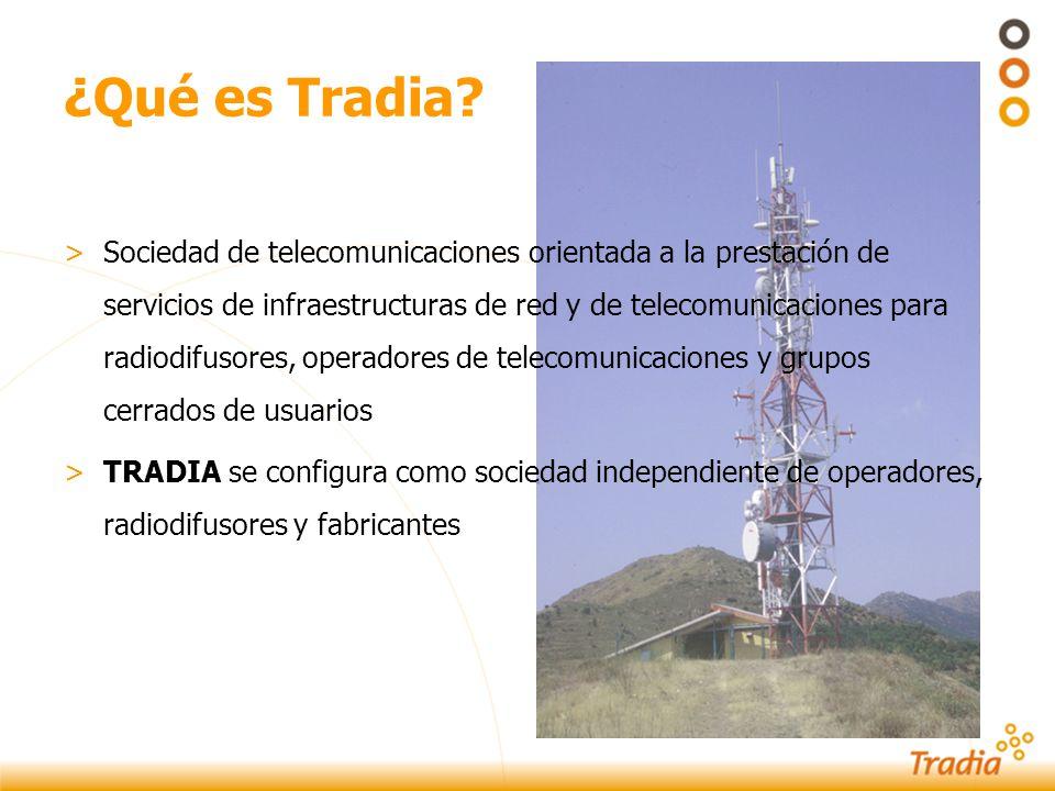 Operadores de infraestructuras Las tendencias actuales en la industria de las telecomunicaciones...