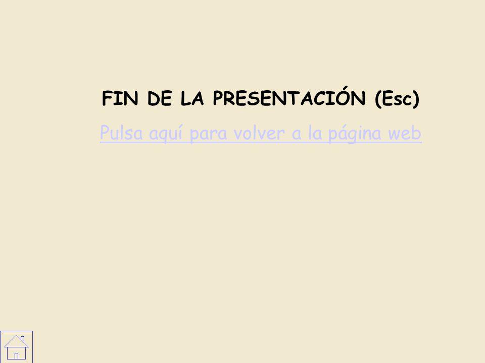 FIN DE LA PRESENTACIÓN (Esc) Pulsa aquí para volver a la página web