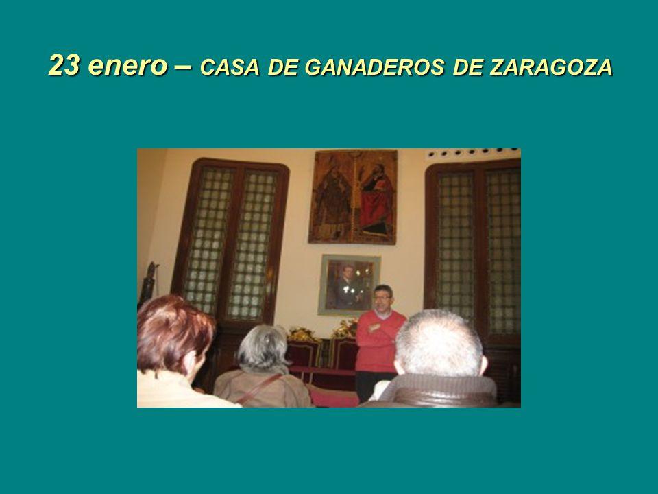 15 Enero MUSEO DE CERÁMICA