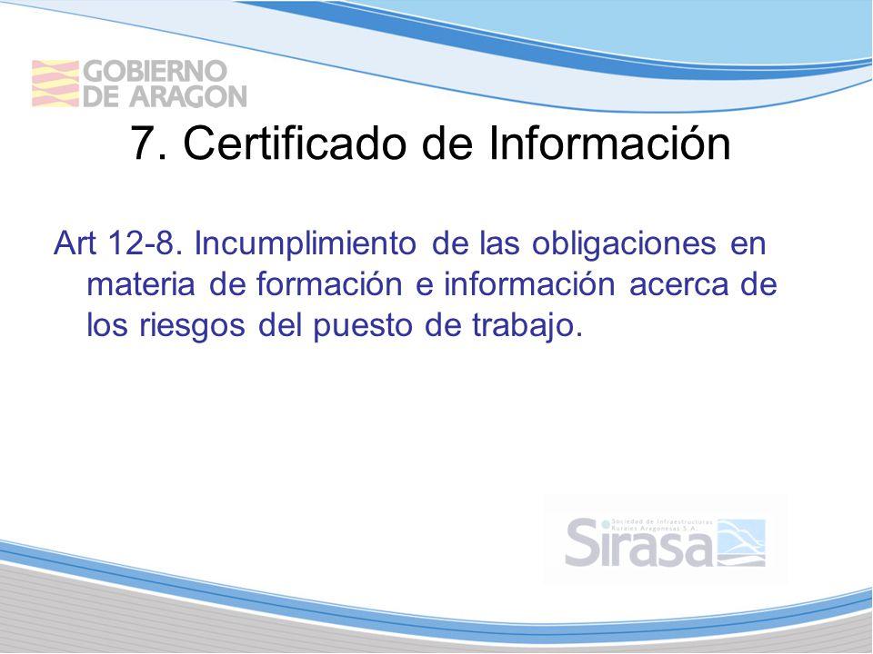 7.Certificado de Información Art 12-8.