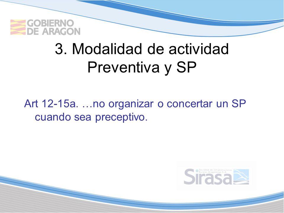 3.Modalidad de actividad Preventiva y SP Art 12-15a.