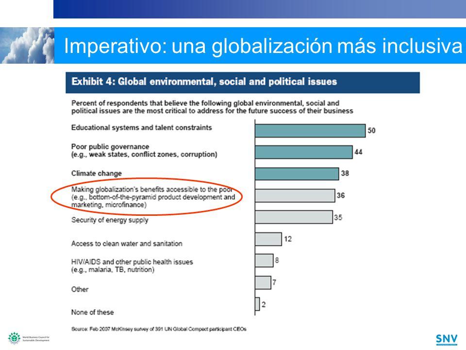 7 7 Imperativo: una globalización más inclusiva