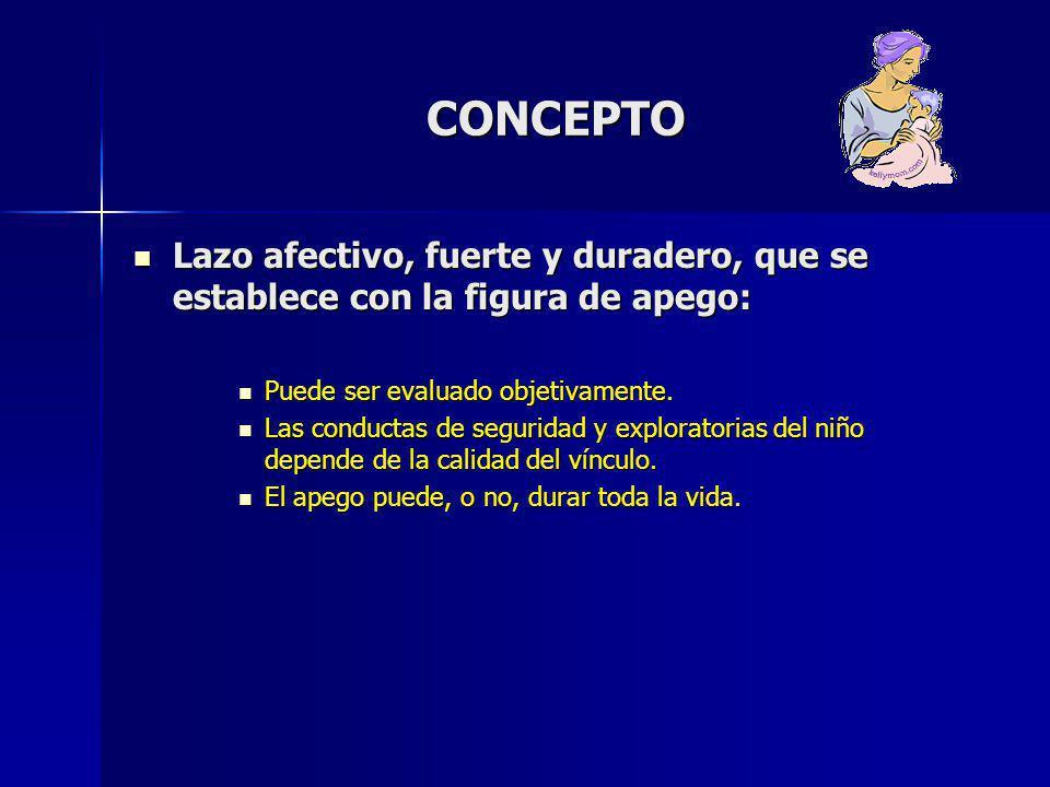 APEGO Y PSIQUIATRÍA INFANTO- JUVENIL: GENERALIDADES (CROWELL – 2003) APEGO INSEGURO (ASOCIACIÓN FUERTE): APEGO INSEGURO (ASOCIACIÓN FUERTE): –T.