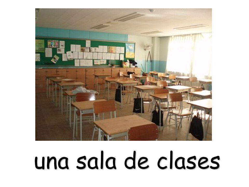una sala de clases