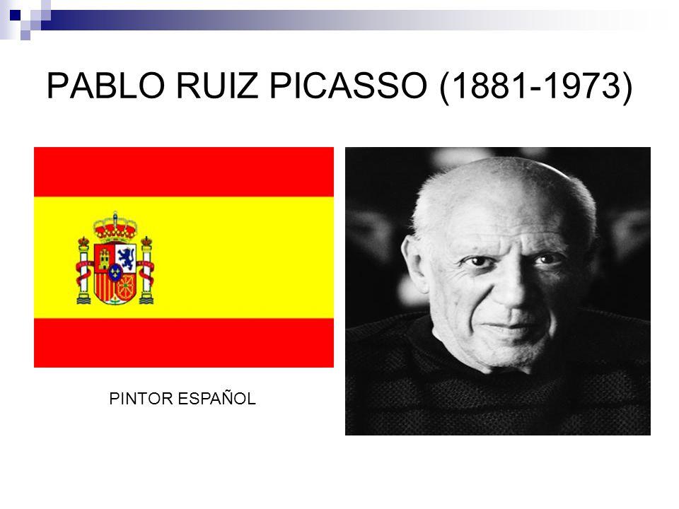 PABLO RUIZ PICASSO (1881-1973) PINTOR ESPAÑOL