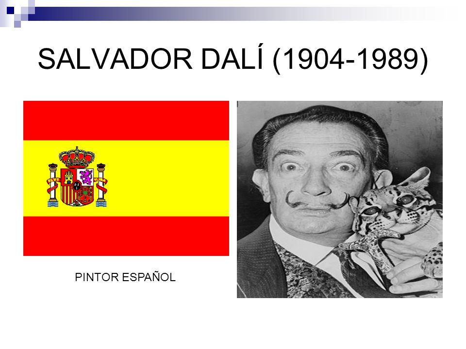 SALVADOR DALÍ (1904-1989) PINTOR ESPAÑOL