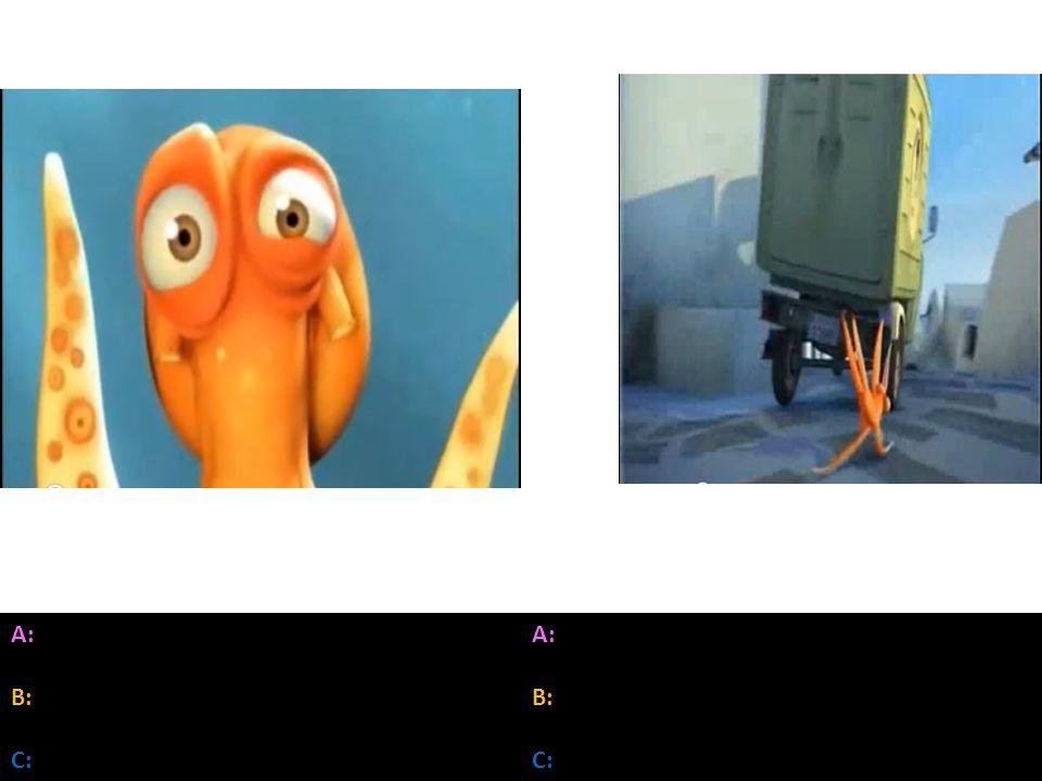 A: B: C: A: B: C: