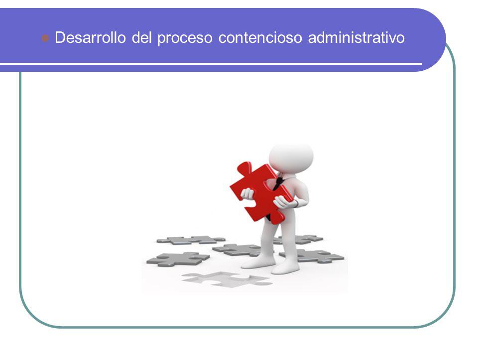 El proceso contencioso administrativo se inicia con la interposición de la demanda, ante el órgano jurisdiccional competente.