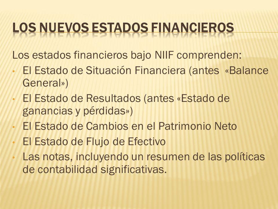 Analisis De Estados Financieros Tema I Estados Financieros