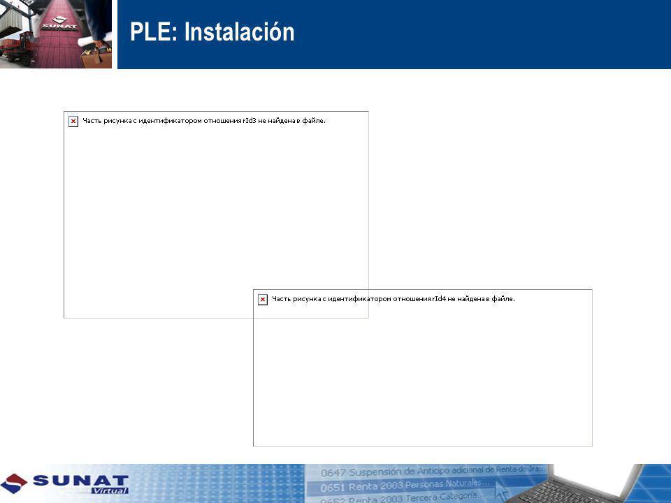 PLE: Instalación