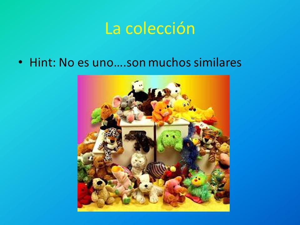 La colección Hint: No es uno….son muchos similares