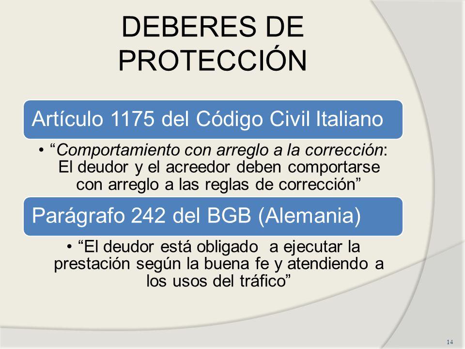 DEBERES DE PROTECCIÓN 14