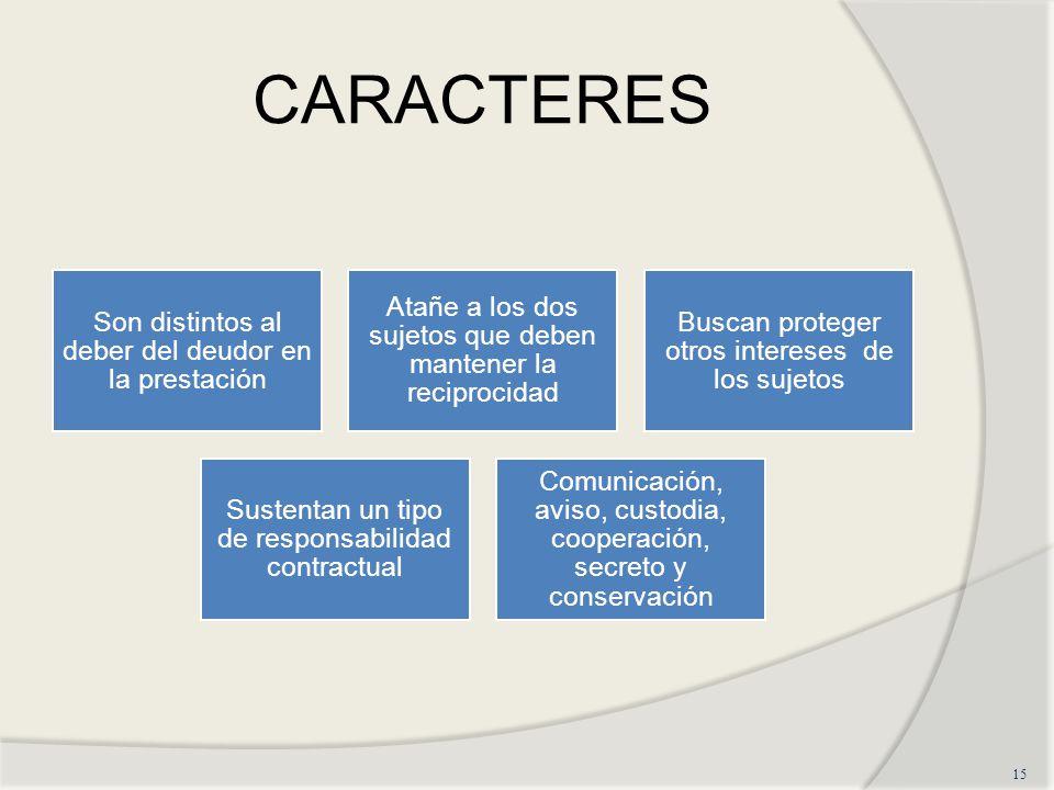 CARACTERES 15