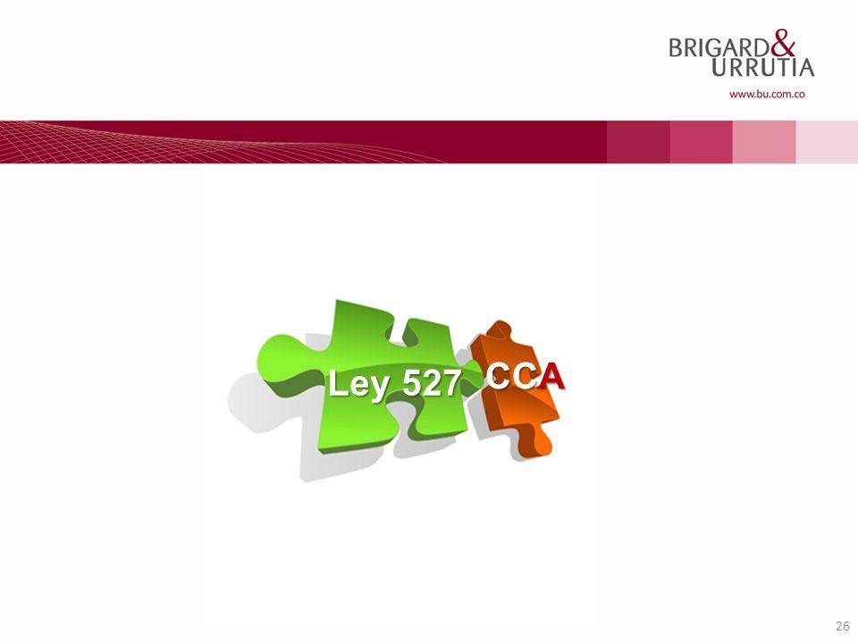 26 Ley 527 CCA
