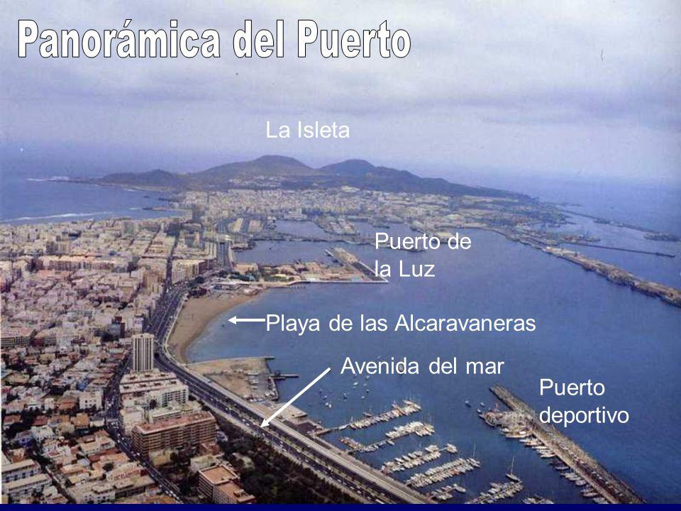 La Isleta Puerto de la Luz Playa de las Alcaravaneras Puerto deportivo Avenida del mar