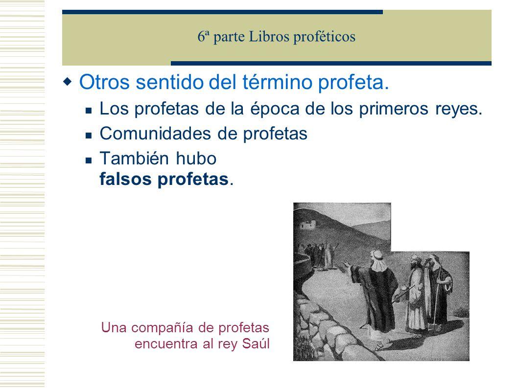 Literatura profética Los profetas se pueden clasificar en: 1) Profetas preexílicos a) Periodo asirio (s.