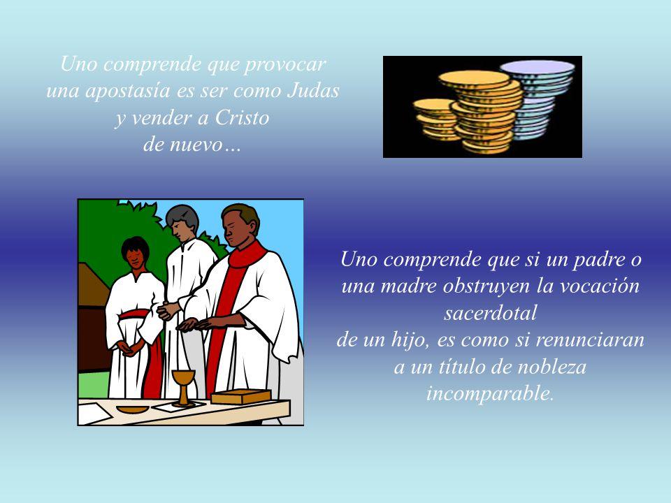 Uno comprende el inmenso respeto que los pueblos tenían por los sacerdotes, lo que se reflejaba en las leyes… Una comprende que el peor crimen que pue