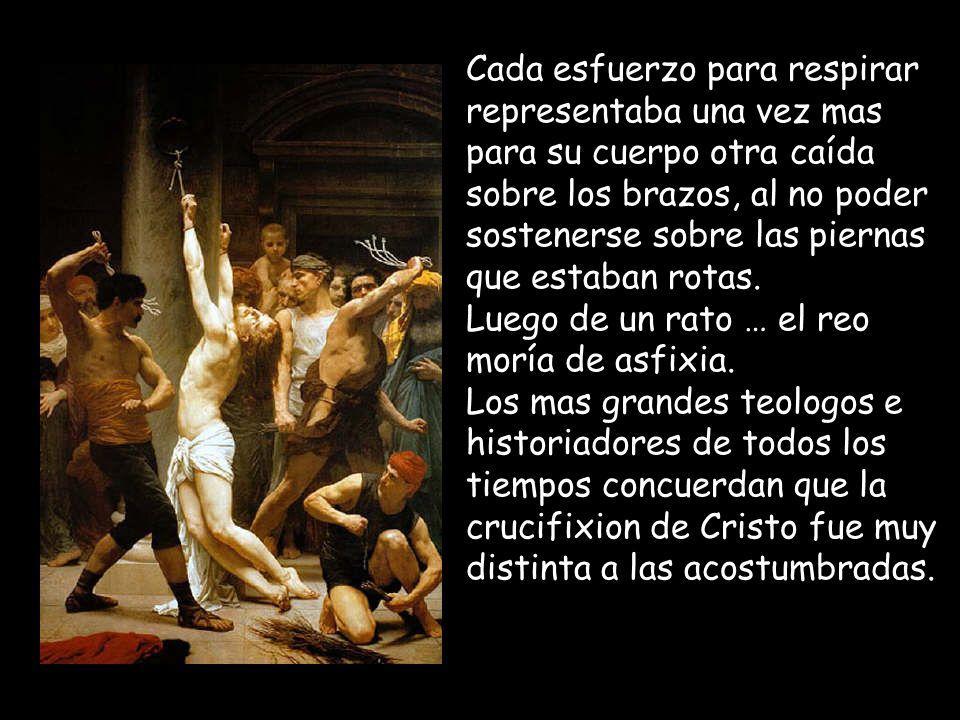 El único muerto en cruz del cual se tiene constancia histórica, que fue azotado, coronado de espinas, golpeado y humillado antes de su crucifixión es JESUS DE NAZARETH (y existen muchas evidencias de otros crucificados).