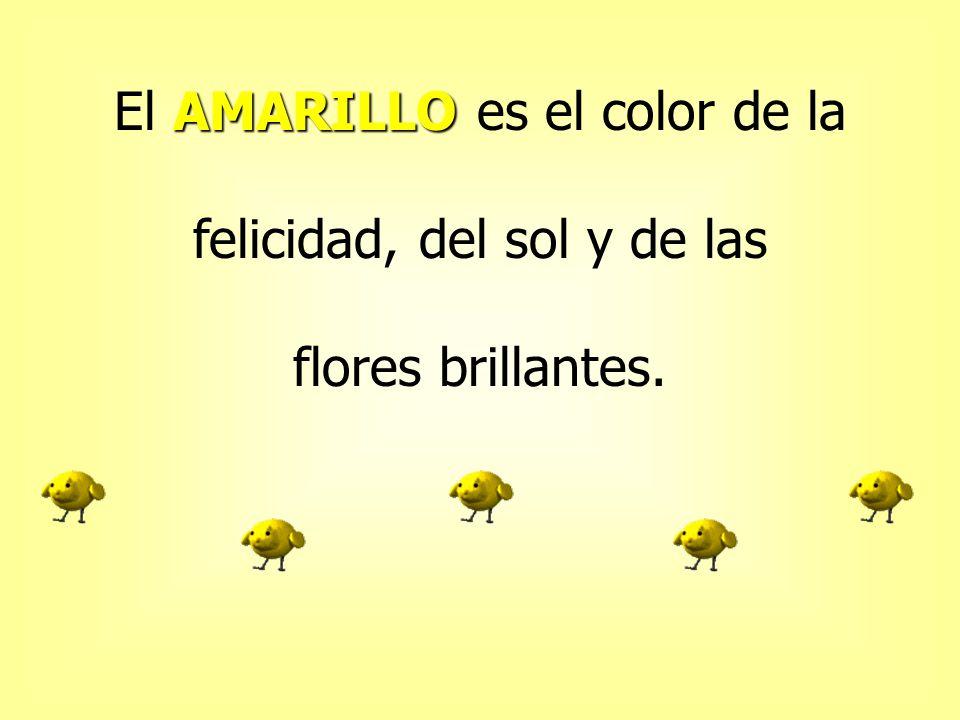 VERDE El VERDE es el color de la naturaleza, de la hierba, de los árboles, de los campos y del bosque.