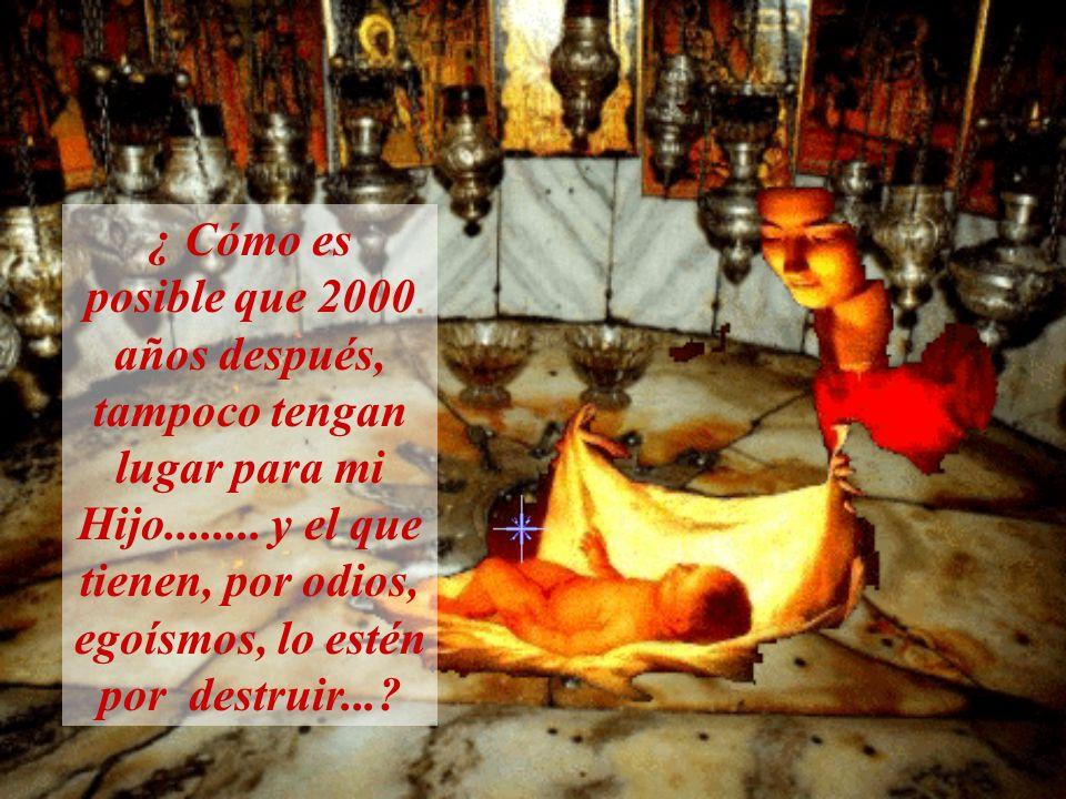 ¿ Qué hacemos para cuidar ese lugar Sagrado, llamado la Basílica de La Natividad de los males de la guerra?