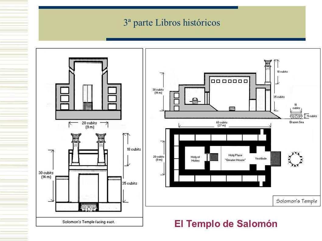 3ª parte Libros históricos El Templo de Salomón