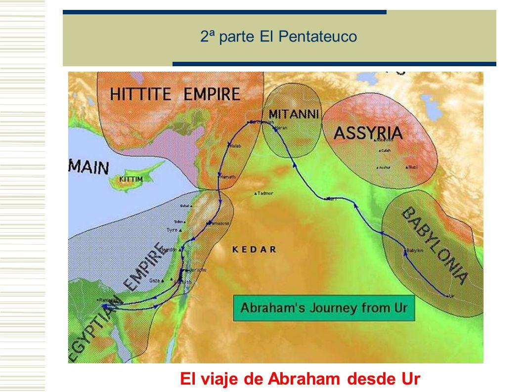 2ª parte El Pentateuco El viaje de Abraham desde Ur