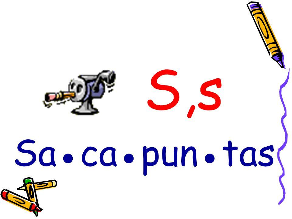 S,s Sacapuntas