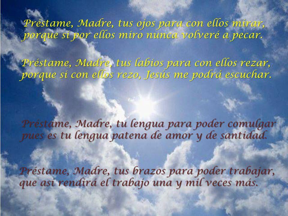 Oración para ser como María Santísima