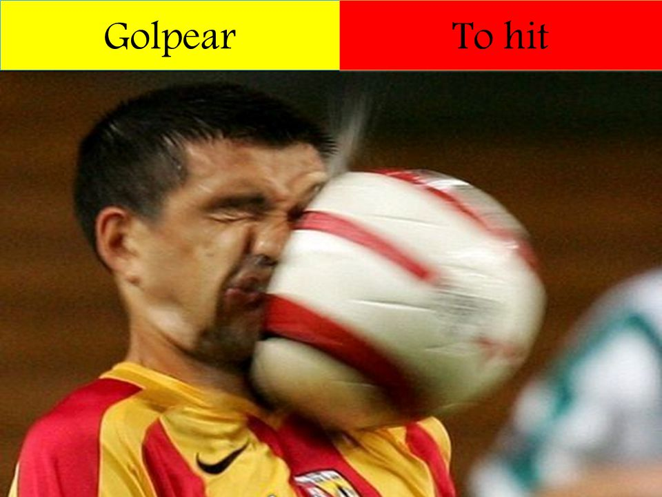 Golpear To hit