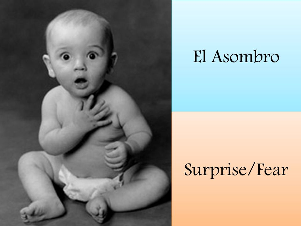 El Asombro Surprise/Fear
