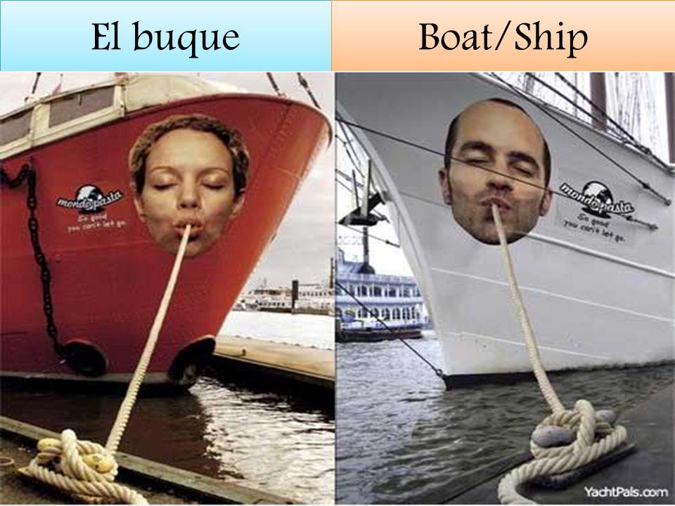 El buque Boat/Ship