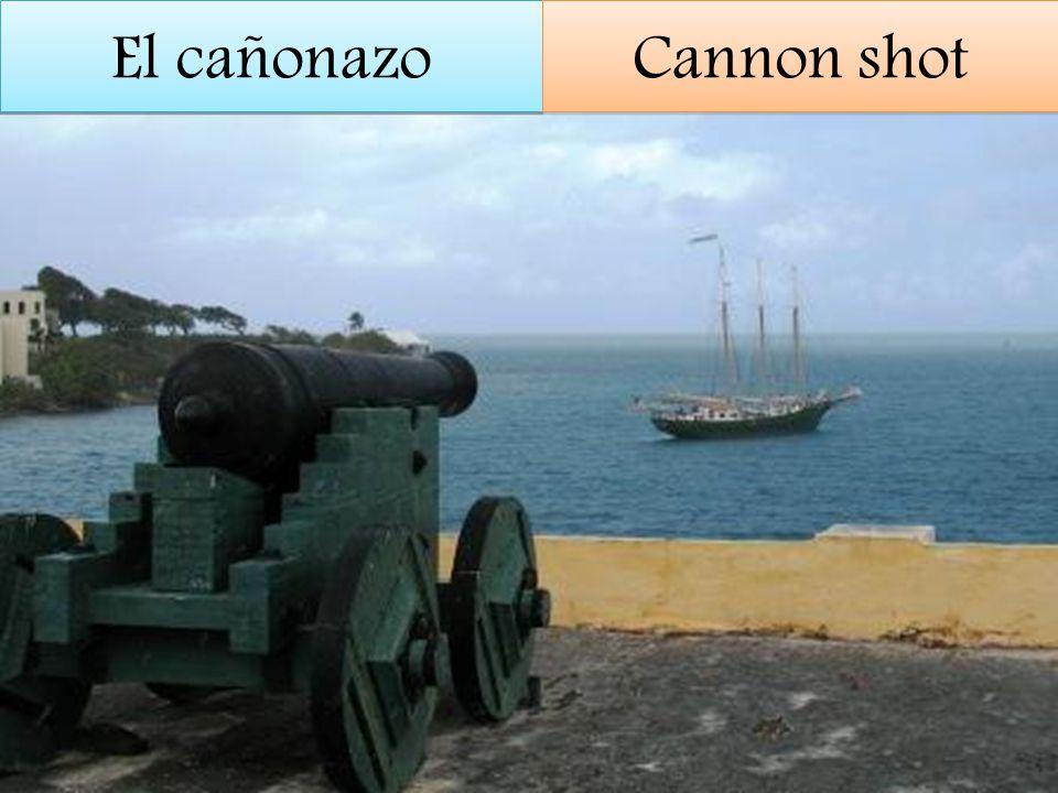 El cañonazo Cannon shot