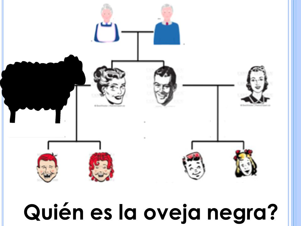 Quién es la oveja negra?