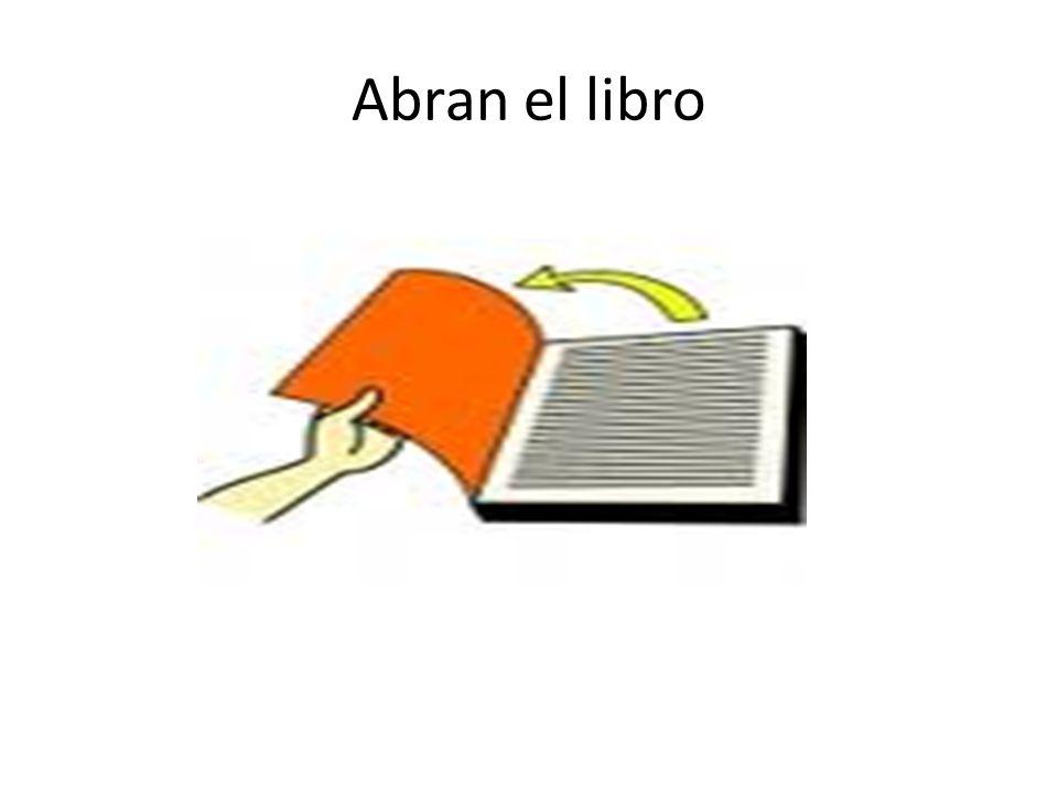 Abran el libro