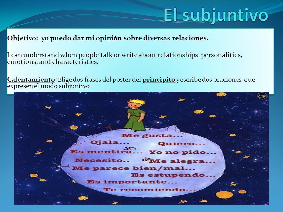 Subjuntivo - REGULARES 1.Es posible que (hablar, él) inglés.