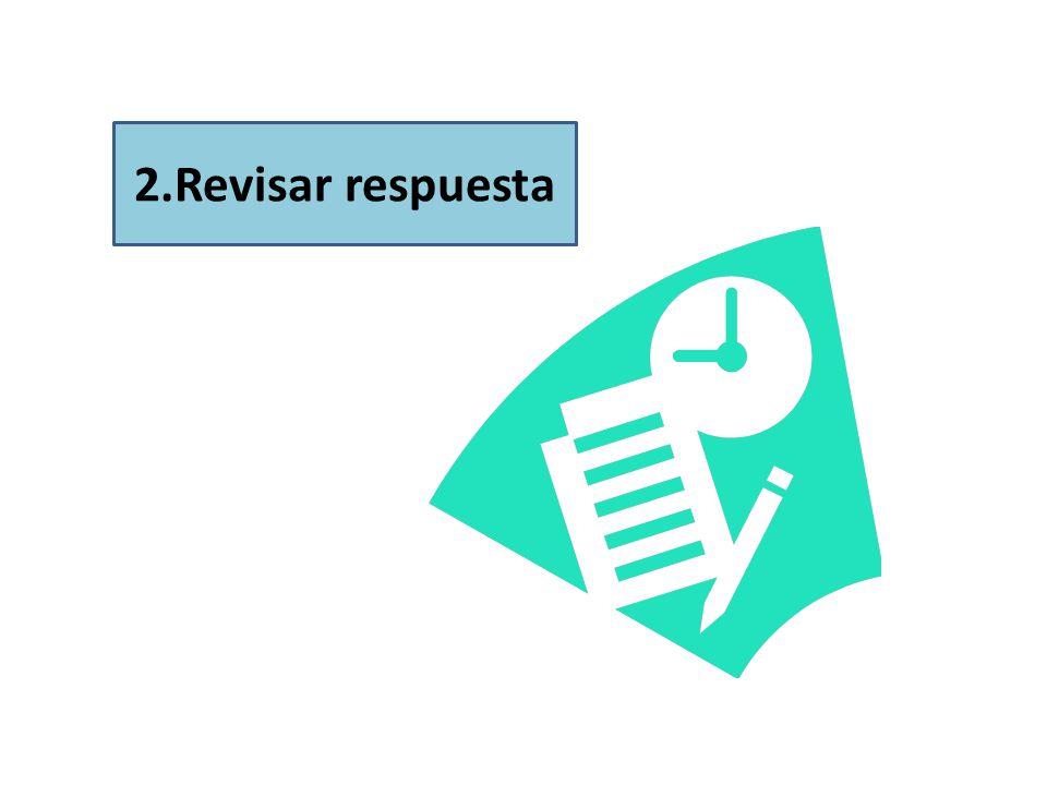 2.Revisar respuesta