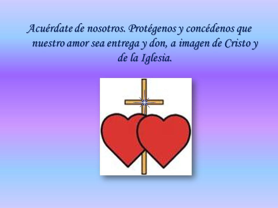 Señor, Padre santo, Dios omnipotente y eterno, te damos gracias y bendecimos tu Santo Nombre; Tú que has creado al hombre y a la mujer para que uno se