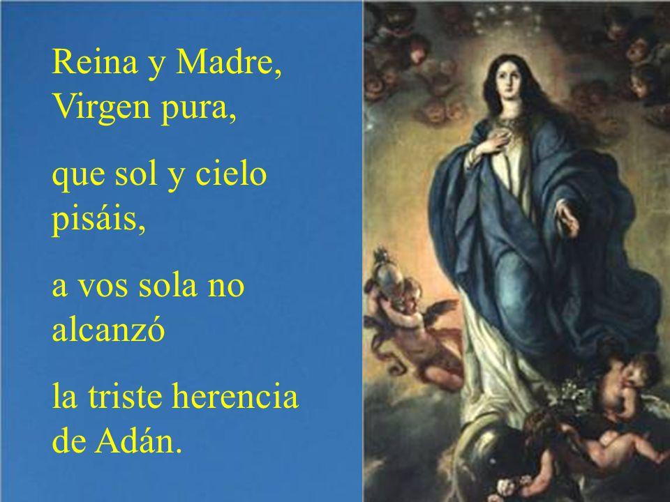 Muchos teólogos y santos han visto la conveniencia de que Dios debía hacer a su Madre limpia de todo pecado.
