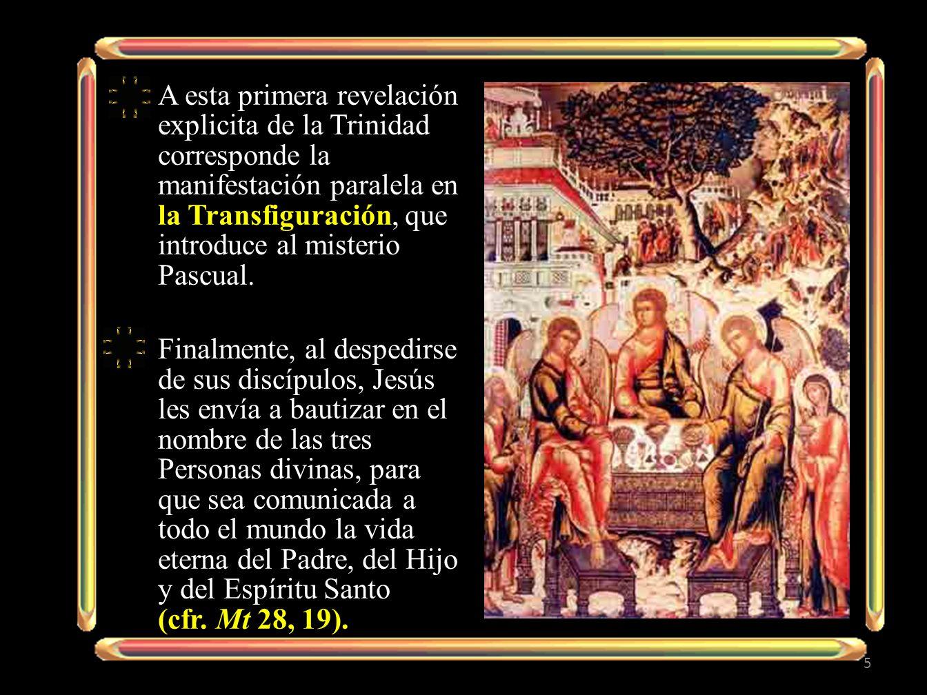 En el Antiguo Testamento, * Dios reveló *su unidad y *su amor *hacia el pueblo elegido: *Yahwé era como un Padre.