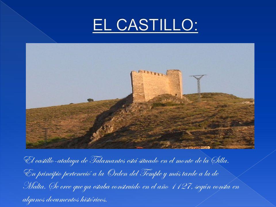 El castillo-atalaya de Talamantes está situado en el monte de la Silla.