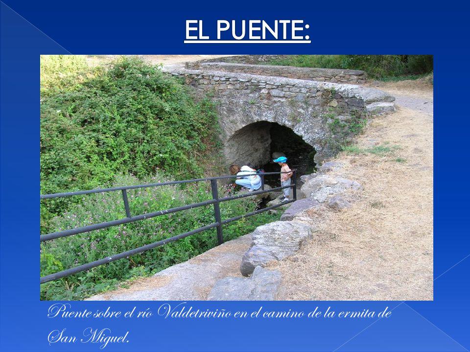 Puente sobre el río Valdetriviño en el camino de la ermita de San Miguel.