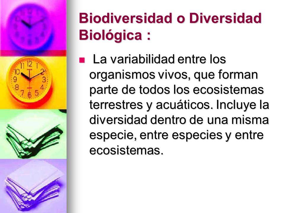 Biosfera : Es aquella parte del planeta que contiene el conjunto de seres vivos y en la cual es posible la vida y la localización allí en forma permanente.