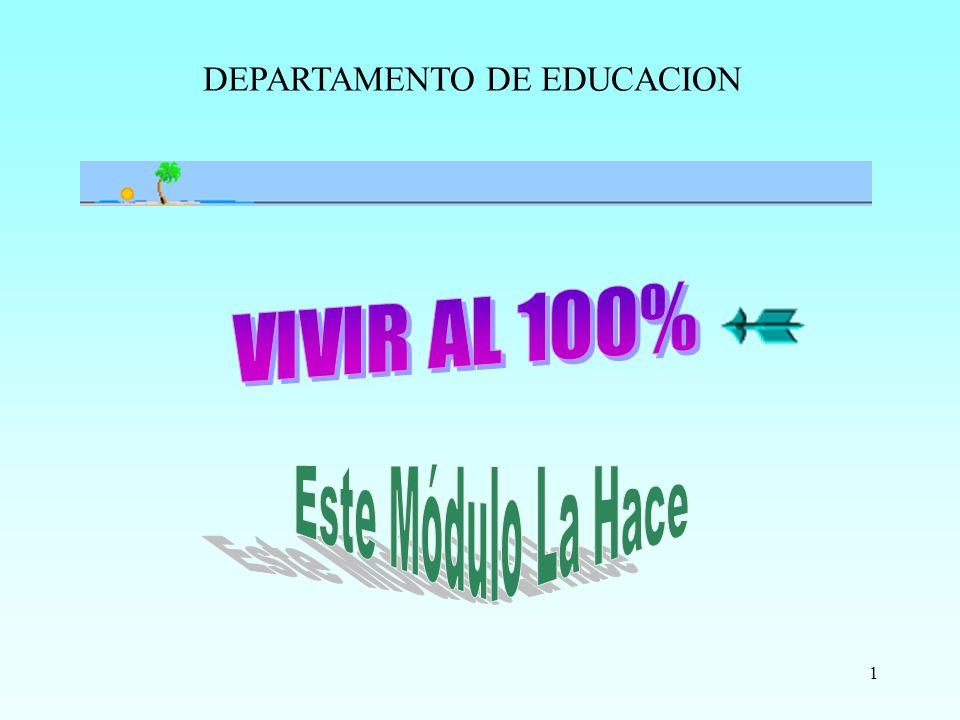1 DEPARTAMENTO DE EDUCACION