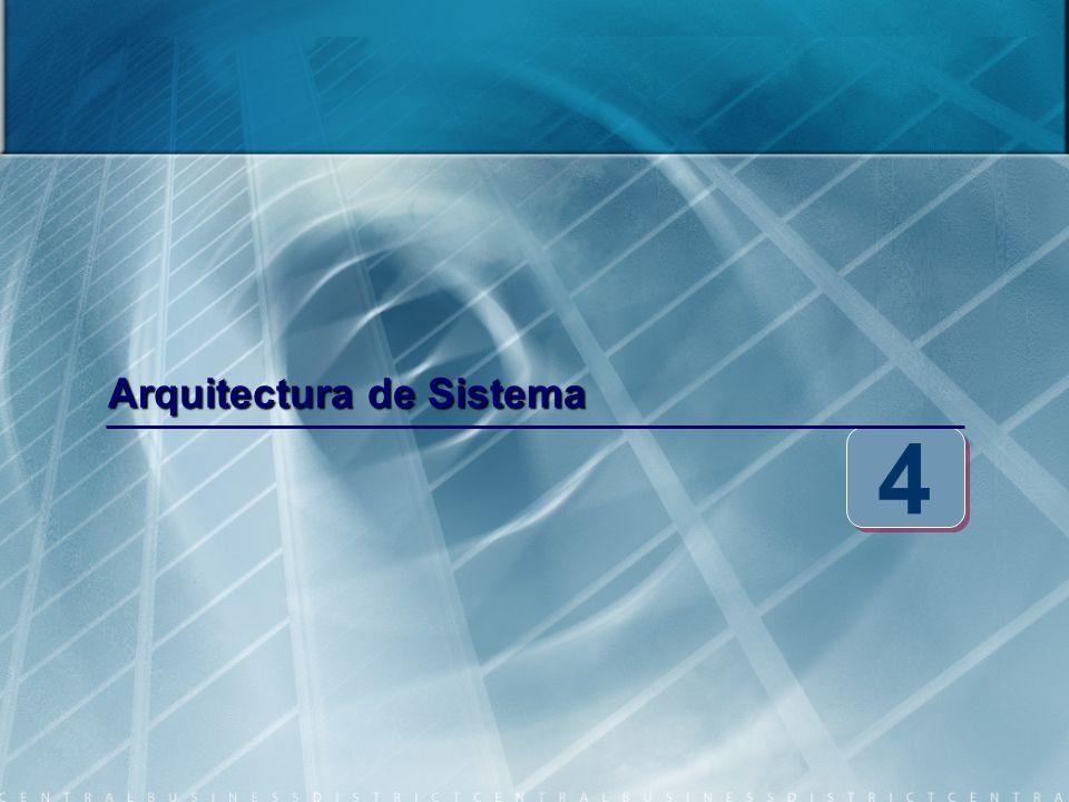 Arquitectura de Sistema 4 4