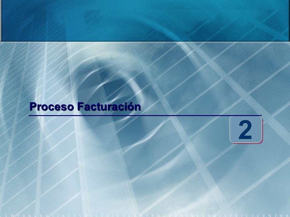Proceso Facturación 2 2