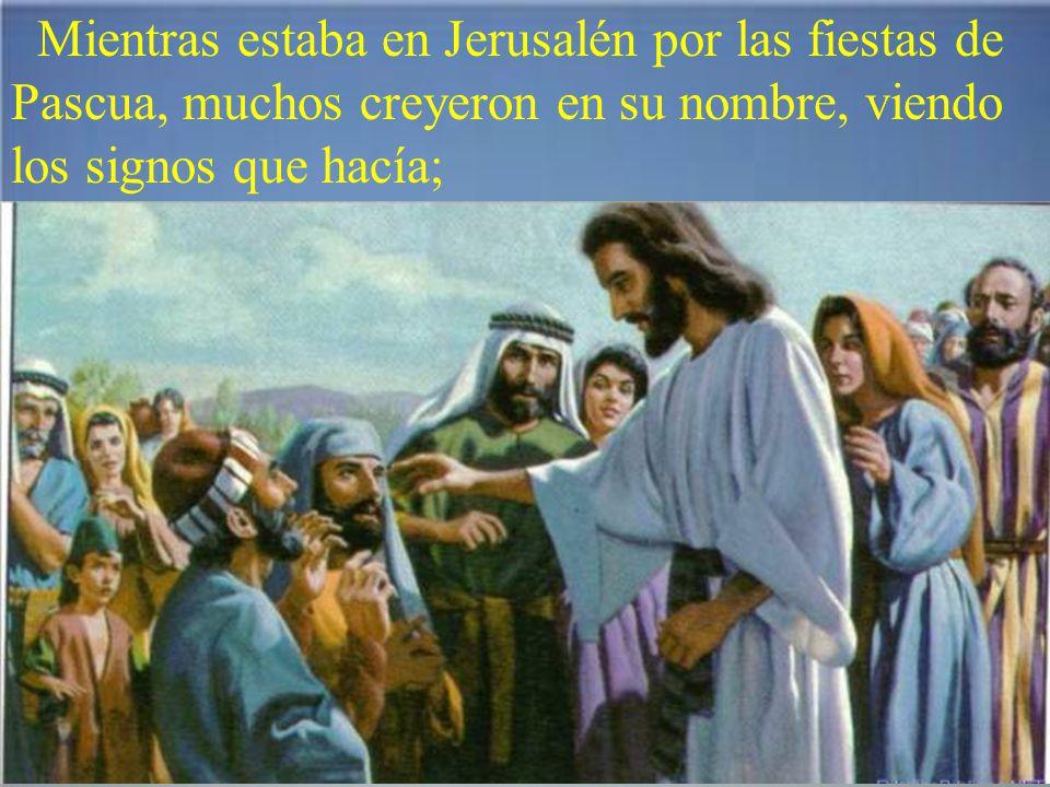 Y, cuando resucitó de entre los muertos, los discípulos se acordaron de que lo había dicho, y dieron fe a la Escritura y a la palabra que había dicho