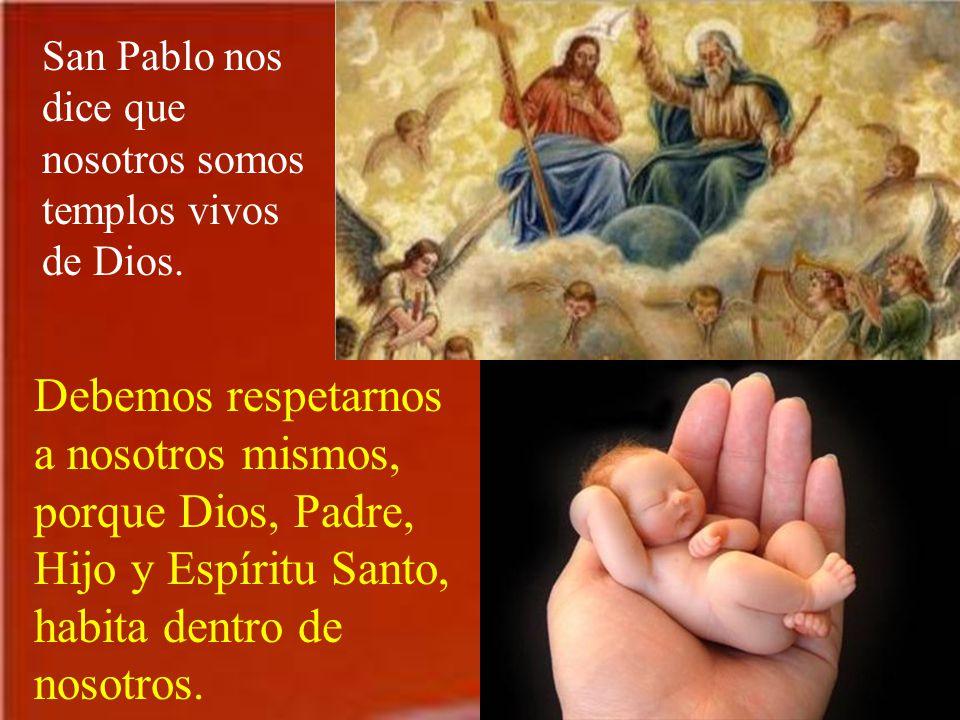 El verdadero templo de Dios es Jesús. Su cuerpo está entre nosotros, en la Eucaristía.