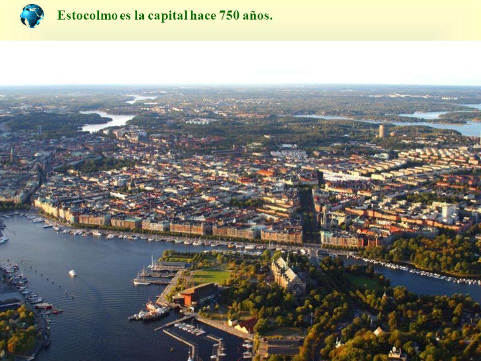A simple vista la ciudad parece estar flotando construida sobre 14 islas abarcando 1/3 de parte continental.