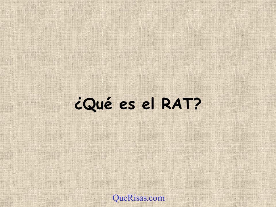 ¿Qué es el RAT? QueRisas.com