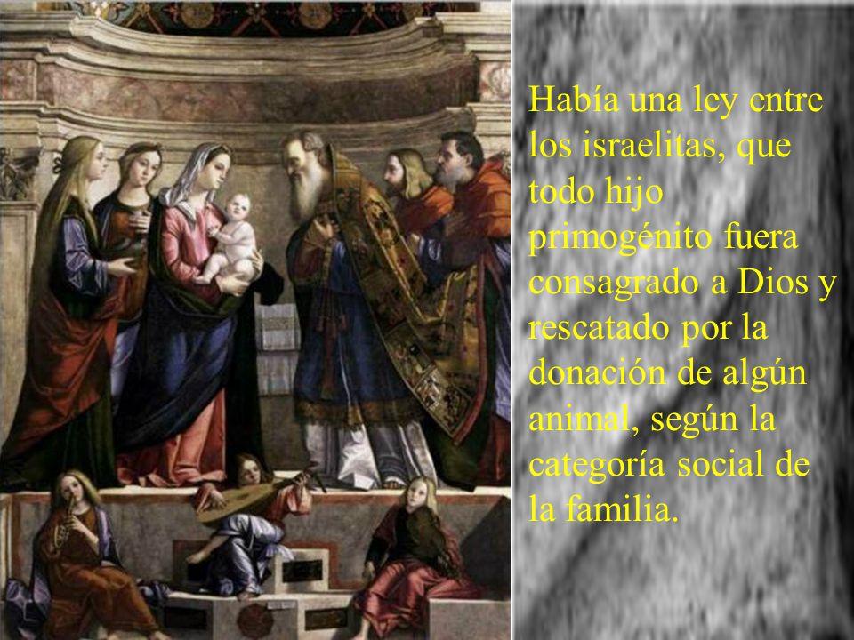 Entre las escenas sobre la vida familiar entre Jesús, María y José, en este año del ciclo B, nos trae el evangelio la Presentación del Niño Jesús en e